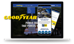 Goodyear Belts ecommerce B2B project